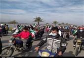 اعلام همبستگی جزایرنشینان ایران با آرمانهای انقلاب از جوار خلیج همیشگی فارس