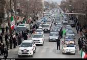 گزارش تصویری برگزاری راهپیمایی یوم الله 22 بهمن در کرمانشاه