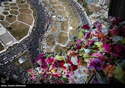 یومالله 22 بهمن از فراز آسمان تهران