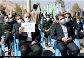 آیین گرامیداشت 22 بهمن در جوار مرقد مطهر شهید سلیمانی از دریچه دوربین