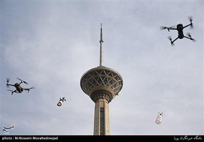 دومین همایش سراسری «پرواز دستهجمعی پهپادها» بهمناسبت چهل و دومین سالگرد پیروزی انقلاب اسلامی