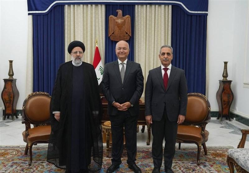 دیدار رئیس قوه قضائیه با برهم صالح+عکس