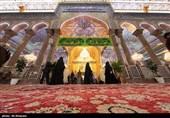 فیلم// حال و هوای حرم امام حسین(ع) در آستانه میلاد اباعبداللهالحسین