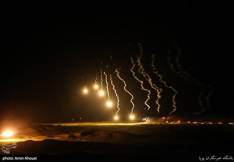 IRGC Wraps Up Exercise with Night Assault