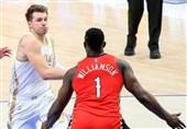 لیگ NBA| پیروزی دالاس با 46 امتیاز دانچیچ/ لیکرز از سد ممفیس گذشت