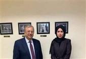 دیدار سفرای عربستان و قطر در سازمان ملل