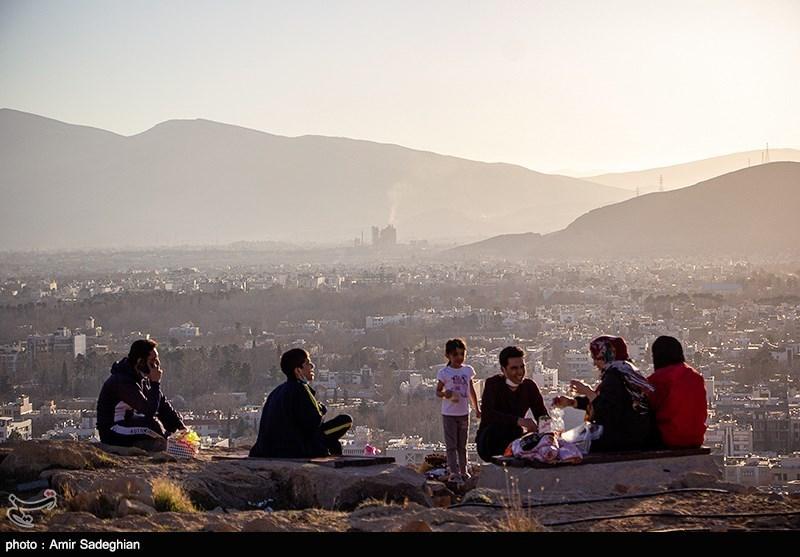 پیاده راه قندیلی شیراز در روزهای کرونایی