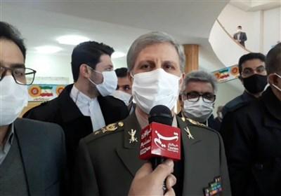 امیر حاتمی: وزارت دفاع برای واکسیناسیون به کمک وزارت بهداشت آمده است