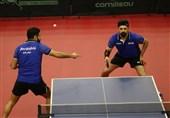 تنیس روی میز تور جهانی قطر| صعود تیم دو نفره ایران به نیمهنهایی