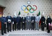 برگزاری جلسه هیئت رئیسه فدراسیون ورزشهای ناشنوایان با صالحیامیری