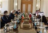 دیدار ظریف و همتای قطری در تهران