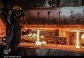 چرخه تولید فولاد در کارخانجات بردسیر به روایت تصویر