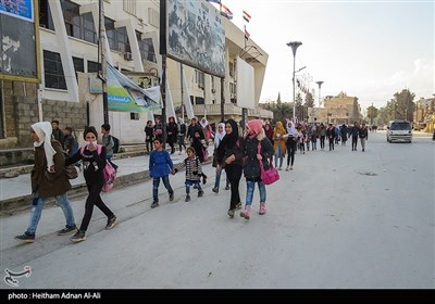 Normal Life in Hasaka after Termination of Over 3 Weeks of Siege