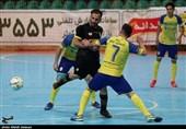 مرحله پلیآف لیگ برتر فوتسال| توقف کوثر اصفهان مقابل ایمان شیراز در خانه