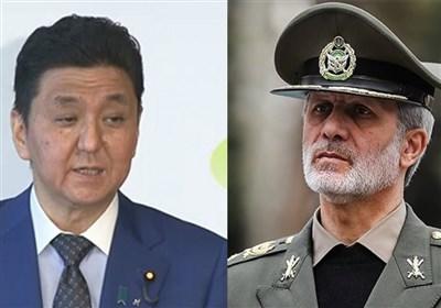 گفتگوی تصویری وزرای دفاع ایران و ژاپن/ تأکید بر لزوم گسترش و تعمیق همکاریهای دو جانبه