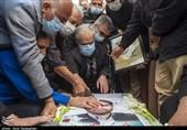 تشییع شهید مدافع امنیت در حرم حضرت شاهچراغ (ع) + تصاویر