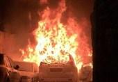 کرانه باختری| شهرکنشینان صهیونیست یک خودروی فلسطینی را به آتش کشیدند