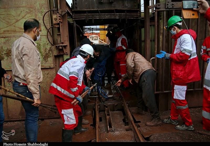 آخرین وضعیت ریزش معدن زغالسنگ دامغان/ تلاش برای نجات کارگران ادامه دارد