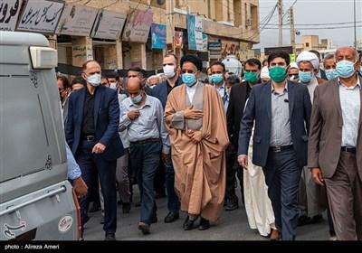 تشییع پیکر پدر وزیر اطلاعات - لامرد