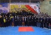 جام نقش جهان تکواندو  شهرداری ورامین کاپ قهرمانی را بالای سر برد