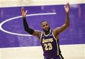 لیگ NBA| لبران از رکورد 35 هزار امتیاز گذشت