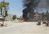 انفجار یک خودروی بمبگذاری شده در حومه شمالی حلب