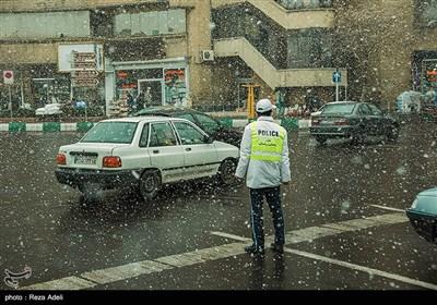 آخرین نفس های زمستان در تبریز