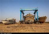سرمایههایی که یکی پس از دیگری نابود میشوند / بزرگترین کارگاه لنجسازی خوزستان در آستانه تعطیلی قرار گرفت + تصاویر
