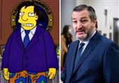 سفر تد کروز به مکزیک در انیمیشن سیمپسونها