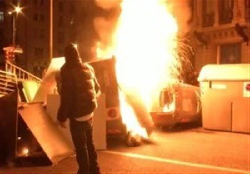 اعتراضات و آشوبها در اسپانیا همچنان ادامه دارد
