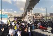 نیروهای خدماتی مدارس به وضعیت معیشتی نامناسب معترض شدند