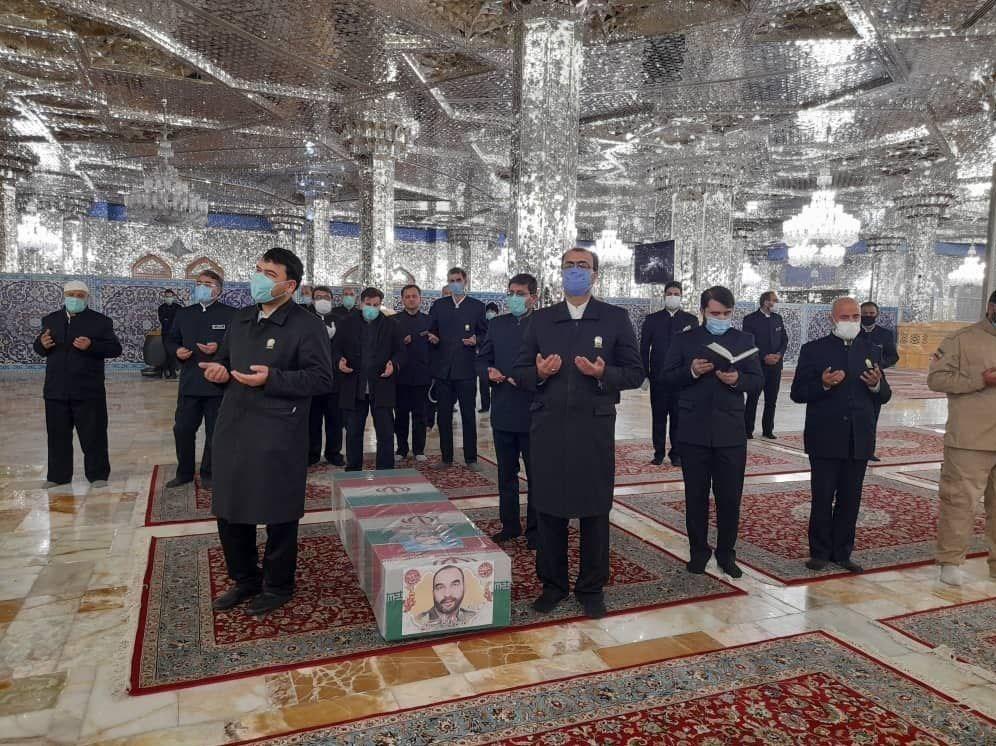 شهید , کمیته جستجوی مفقودین ستاد کل نیروهای مسلح , مشهد مقدس , حرم امام رضا(ع) , تشییع شهدا ,
