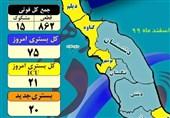 آخرین وضعیت کرونا در استان بوشهر| 50 درصد شهرستانها در وضعیت زرد کرونایی+جدول