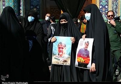 نقش شهید گلمحمدی در تفحص بیش از چند هزار شهید/ آخرین بدرقه سردار شهید تفحص+عکس