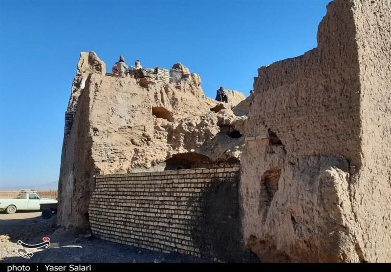 """همت مردمی برای احیای بناهای تاریخی؛ """"گیسور"""" دوباره رونق میگیرد + تصاویر"""