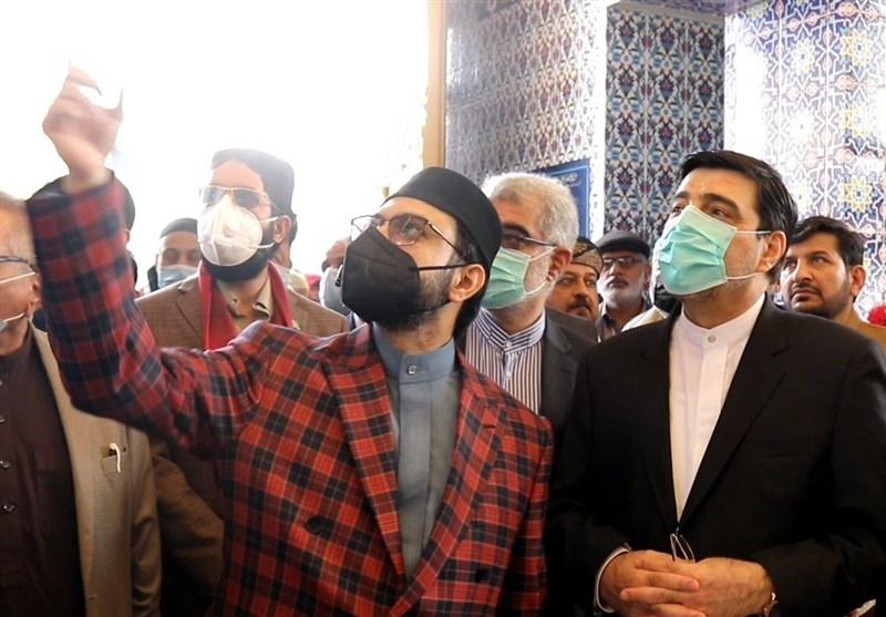 افتتاح مسجد جامع «منهاج» با حضور دیپلماتهای ایران در پاکستان