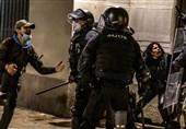 ادامه اعتراضات و آشوبها در اسپانیا برای ششمین شب متوالی