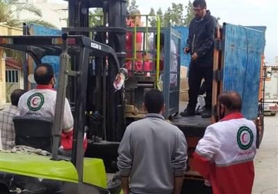 """3محموله کمکهای استان بوشهر برای زلزلهزدگان """"سیسخت"""" ارسال شد"""