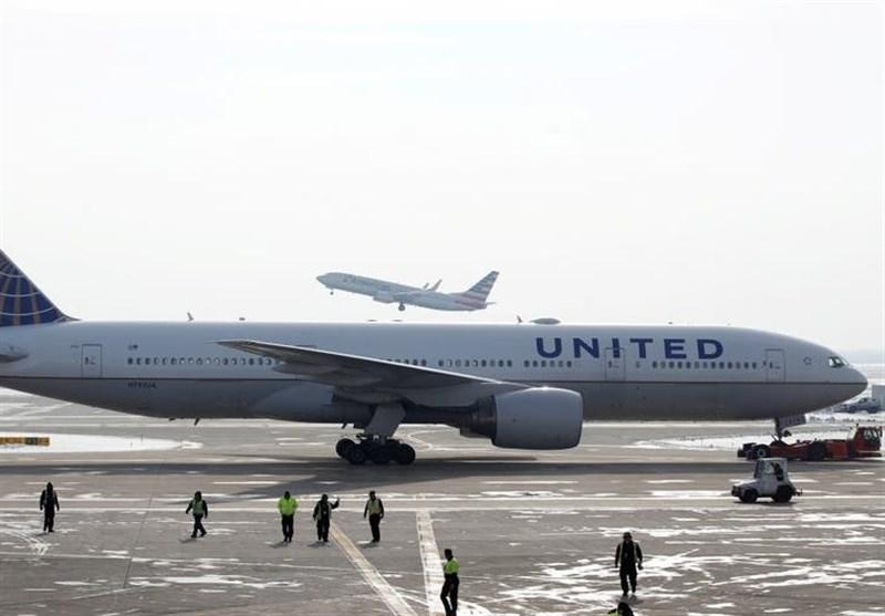 تعلیق پرواز هواپیماهای بوئینگ 777 در آمریکا و ژاپن پس از آتش گرفتن موتور