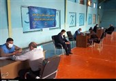 ارائه خدمات مشاوره حقوقدانان بسیجی به زندانیان کرمانشاهی+ تصاویر