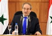 فیصل المقداد: سوریه مصمم به ادامه مبارزه با تروریسم در تمام خاک خود است