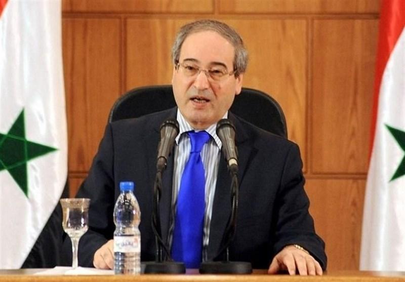 المقداد: العلاقات السوریة الإیرانیة أصبحت نموذجاً یحتذى فی کل المجالات