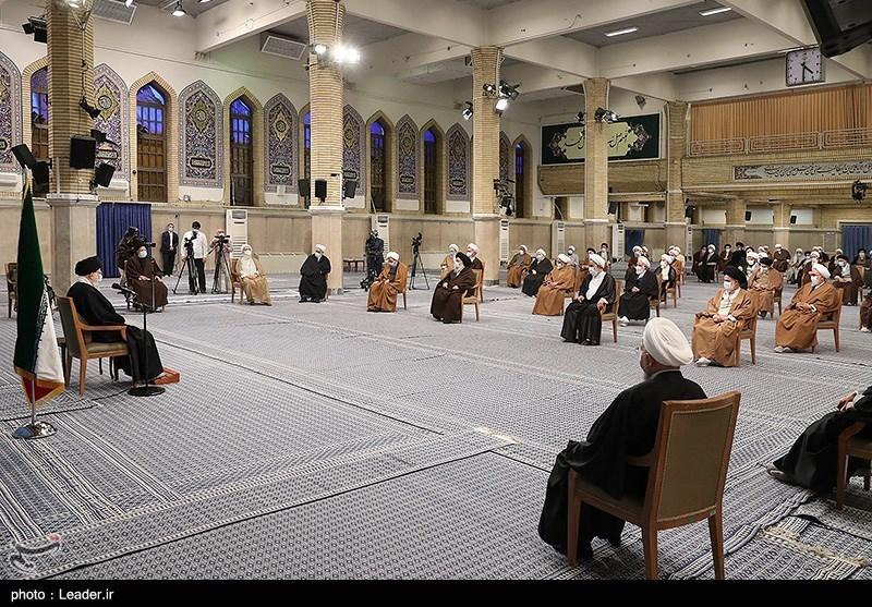 دیدار اعضای مجلس خبرگان رهبری با رهبرمعظم انقلاب