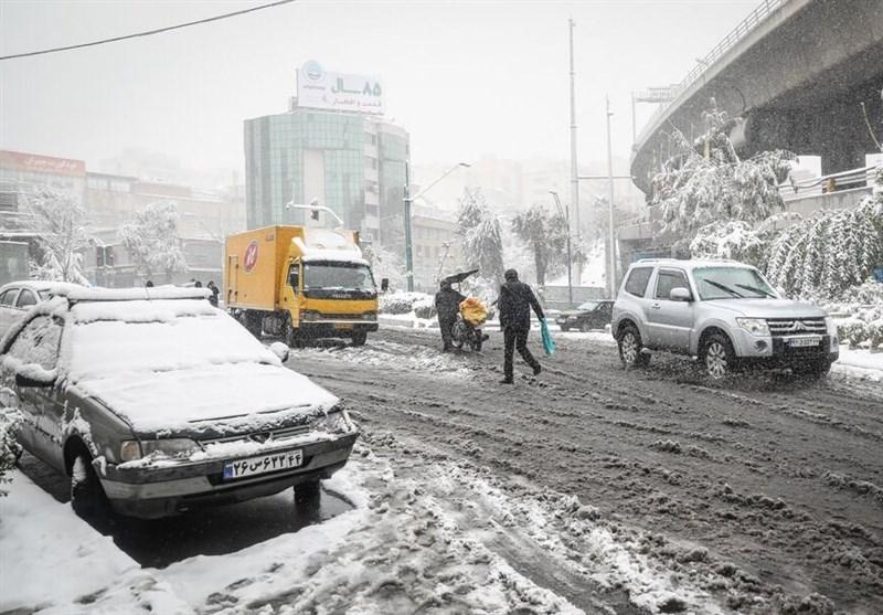 هواشناسی ایران ۹۹/۱۲/۸| بارش برف و باران تا دوشنبه در برخی استانها/ سامانه بارشی جدید سهشنبه وارد کشور میشود,