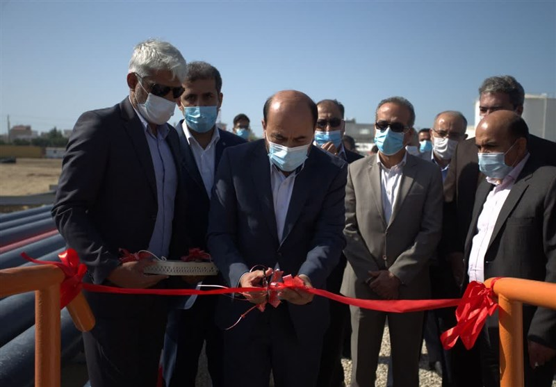 اسکله صادراتی فرآوردههای پتروشیمی بوشهر افتتاح شد