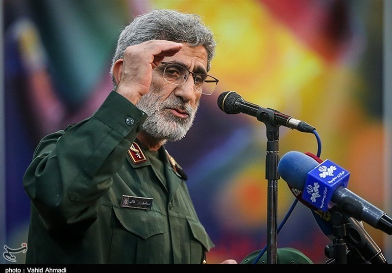Israel Unsafe Even behind Walls, IRGC Quds Force Chief Warns
