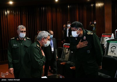 سردار اسماعیل قاآنی فرمانده نیروی قدس سپاه در همایش مطالبات حقوقی بینالمللی دفاع مقدس