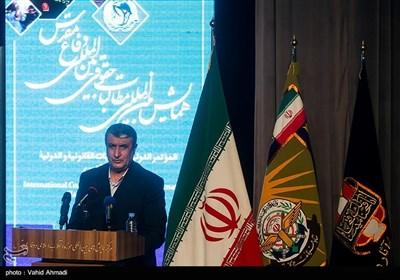 سخنرانی محمد اسلامی وزیر راه و شهرسازی در همایش مطالبات حقوقی بینالمللی دفاع مقدس