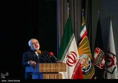 سخنرانی محمدجواد ظریف وزیر امور خارجه در همایش مطالبات حقوقی بینالمللی دفاع مقدس