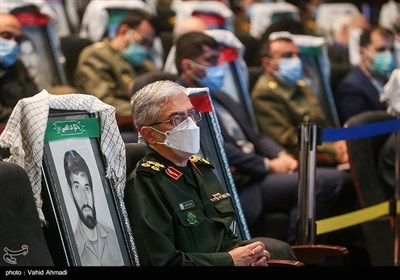 سرلشکر محمد باقری رئیس ستاد کل نیروهای مسلح در همایش مطالبات حقوقی بینالمللی دفاع مقدس